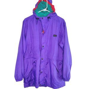 Vintage REI Kids Hooded Windbreaker Jacket